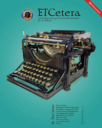 ETCetera No. 118 - Fall 2017